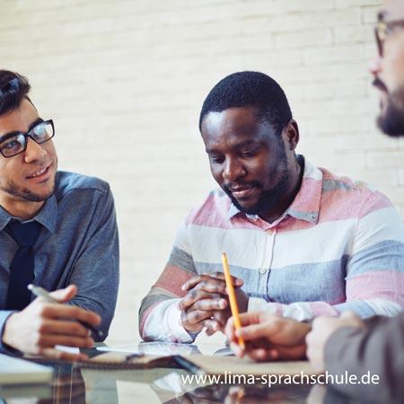 Saturday German course in Munich in Lima Sprachschule