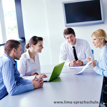 German courses in the evening for companies in Germany